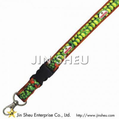 Double Layer Lanyard with Heat Transfer Printing - Double Layer Lanyard with Heat Transfer Printing