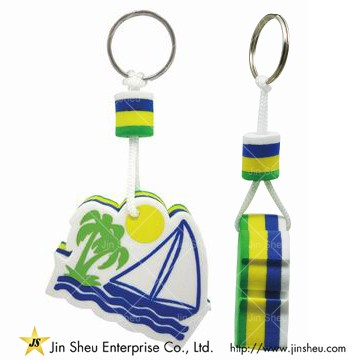Promotional floating EVA Keyrings - Promotional floating EVA Keyrings