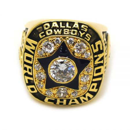 Cowboys World Champions Gold Ring - Cowboys World Champions Gold Ring
