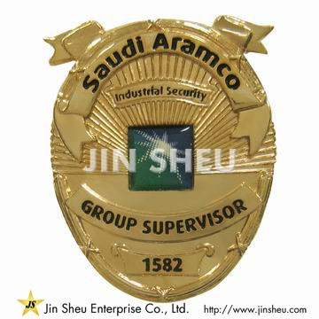 Saudi Aramco Security Badges - Custom Security Badges