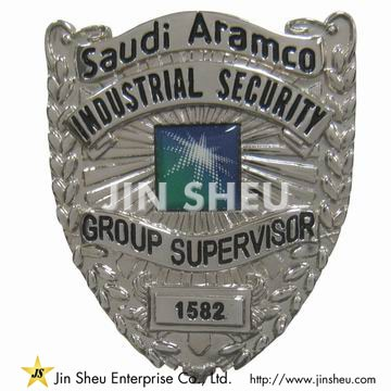 Industrial Security Badges - Custom Security Badges