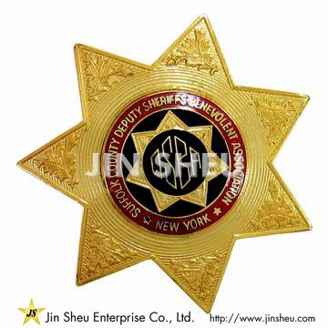 New York Police Badge - Custom Made Nypd Badge