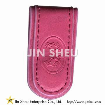 Leather Magnetic Money Clips - Leather Magnetic Money Clips