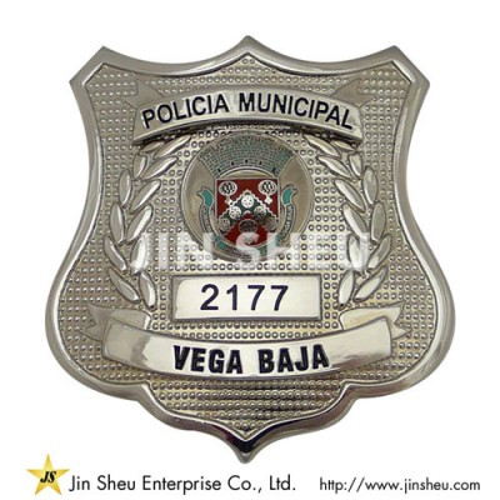 Police Department Badges - Custom Police Department Badges