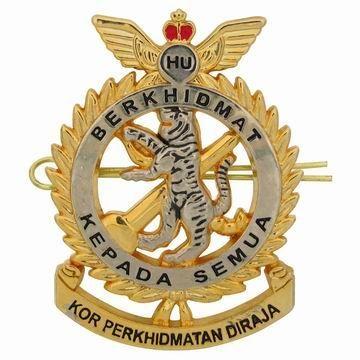Custom Military Cap Badge - Custom Metal Cap Badge