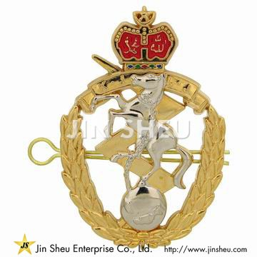 Police Cap Badges - Custom Police Cap Badges