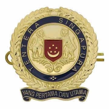 Army Beret Cap Badge - Custom Military Hat Badges