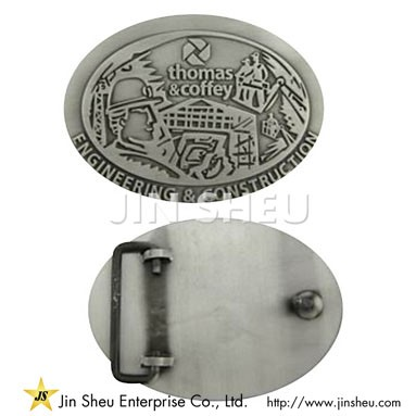 Custom Zinc Belt Buckle