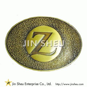 Custom Logo Belt Buckle