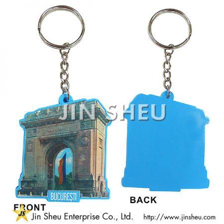 Offset Printing PVC Keychains - Offset Printing PVC Keychains