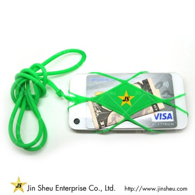 Silicone Mobile Phone Back Straps - Silicone Mobile Phone Back Straps