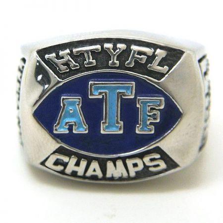 Custom Stainless Steel Championship Rings - Stainless Steel Championship Rings