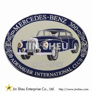 Mercedes Grill Badges