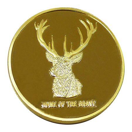 Deer Medal Coin