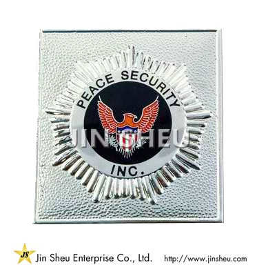 Peace Security Badges - Custom Made Peace Security Badges
