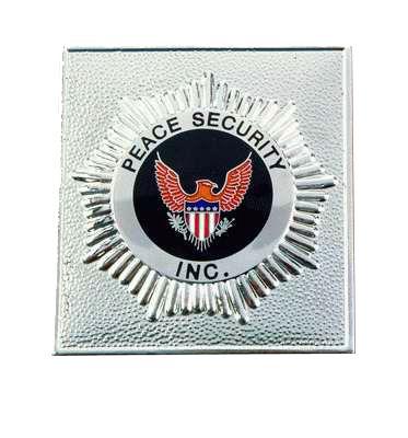 Peace Security Badges - Custom Made Peace Security Badges