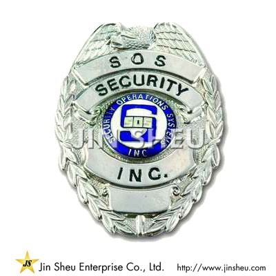 SOS Security Badges - Custom Security Badges