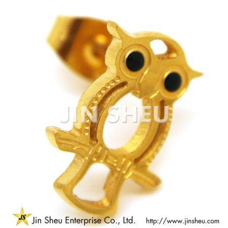 Owl Earrings - Owl Earrings