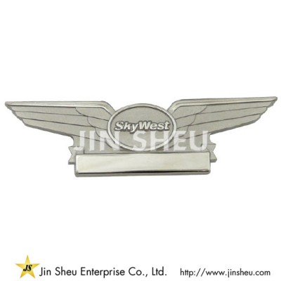 Pilot Wings Lapel Pins - Custom jewelry 925 sterling silver souvenirs