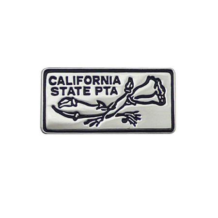 Die Struck Sterling Silver Lapel pins - Die Struck Sterling Silver