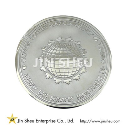 Sterling Silver Commemorative Coins - Silver Service Award