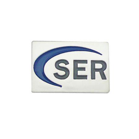Sterling Silver Corporate Lapel Pin - Corporate Lapel Pin