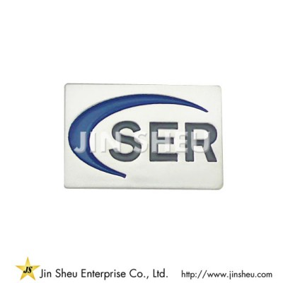 Sterling Silver Corporate Lapel Pin - Corporate Lapel Pin