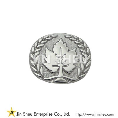 Sterling Silver Maple Leaf Lapel Pin - Maple Leaf Lapel Pin