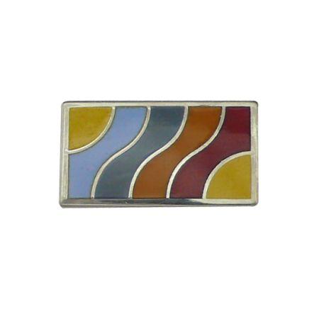 S925 Lapel Pin - Square Lapel Pin