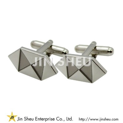 Sterling Silver Cuff Links - Custom jewelry 925 sterling silver souvenirs