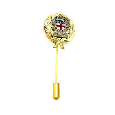 Customized S925 Stick Pin - Gold Plated Stick Pin
