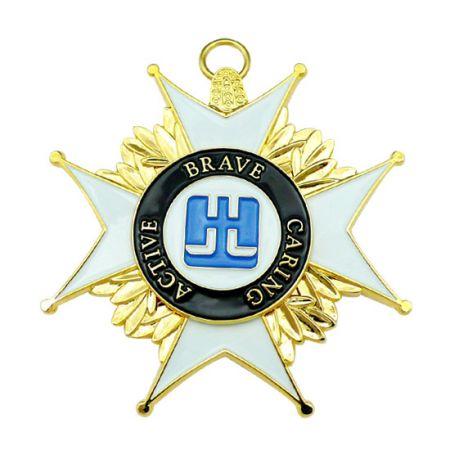 Sterling silver Medal Pendant