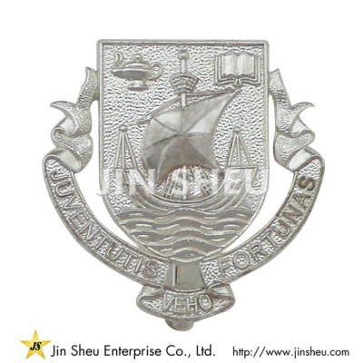 Customized Silver Lapel Pin - Custom jewelry 925 sterling silver souvenirs