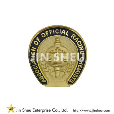 Custom Made S925 Lapel Pins - Horseshoe Pin