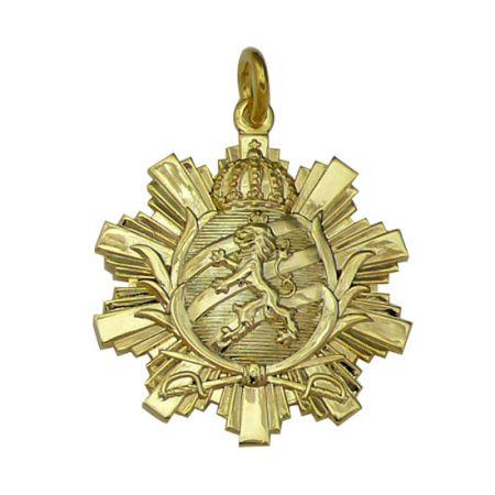 Sterling Silver Pendant - Lion King Pendant