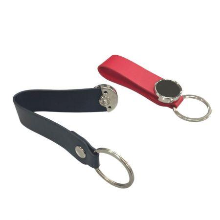 Customized Leather Keychain - Customized Leather Keychain