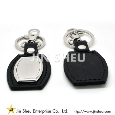 Promotional Leather Keychain - Promotional Leather Keychain