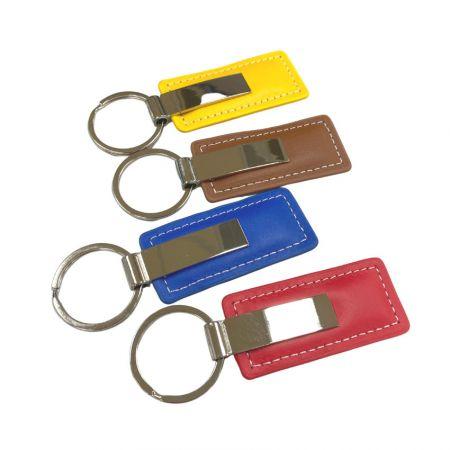 Customized Leather Key Chain - Customized Leather Key Chain
