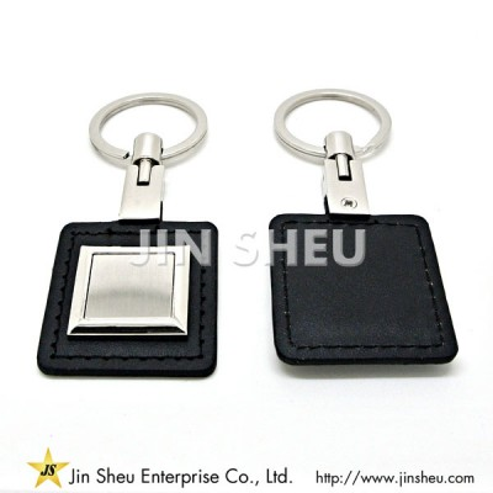 Custom Made Leather Key Chain - Custom Made Leather Key Chain