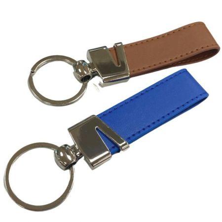 Promotional Leather Keyring - Promotional Leather Keyring