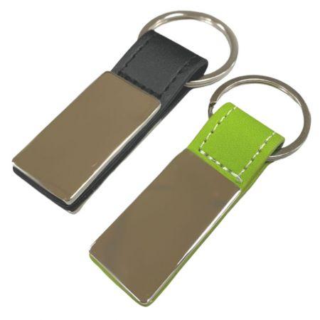 Custom Leather Key Ring - Custom Leather Key Ring