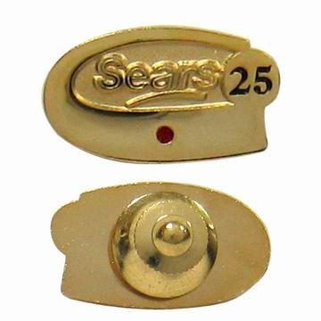 Personalized Tie Tack Pin - Vintage Tie Tack