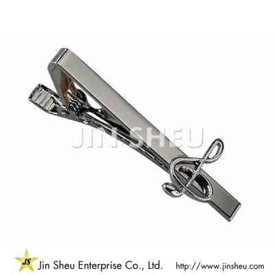 Music Note Tie Bar - Music Note Tie Bar