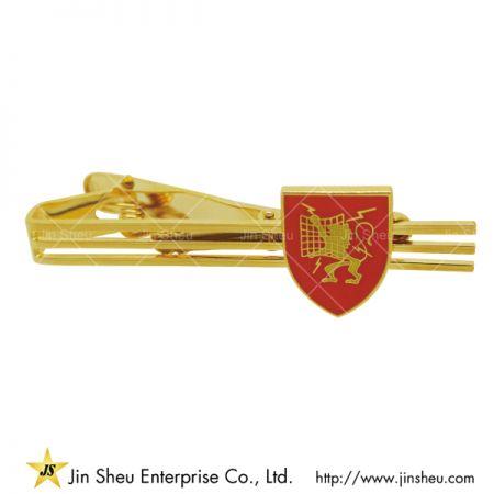 Custom Tie Clip - Gold Lion Tie Clip