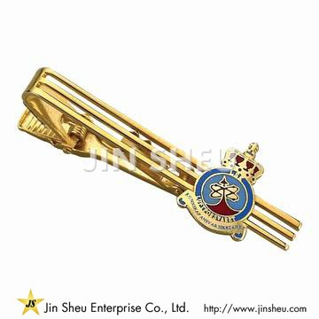 Tie Clip with Custom Logo - Tie Clip with Custom Logo