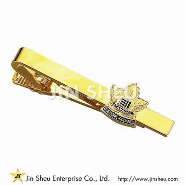 Customized Tie Bar - Canada Maple Leaf Tie Bar