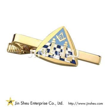 Metal Masonic Tie Bar - Metal Masonic Tie Bar