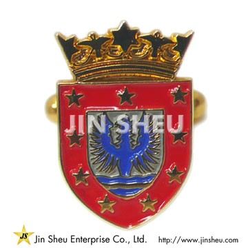 Eagle Shield Cufflinks - Custom Made Eagle Shield Cufflinks