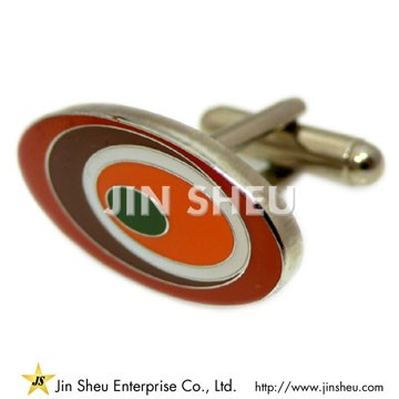Personalized Cufflinks - Oval Shape Cufflinks