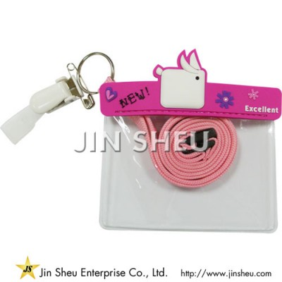 Customized Lanyards Badge Holders